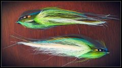 Articulated Hollow Flatwing - blue and green